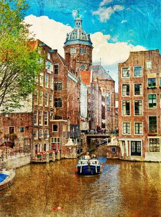Фотообои ''Амстердам 200х270 см''