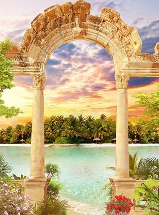 Фотообои ''Античная арка 200х270 см''