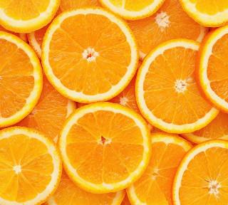 Фотообои ''Апельсиновый фон 300х270 см''