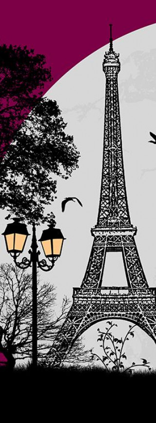 Фотообои ''Арт Париж 100х270 см''