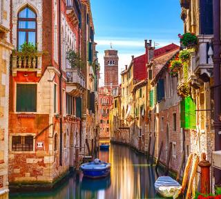 Фотообои ''Балконы Венеции 300х270 см''
