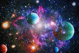 Фотообои ''Большой космос 400х270 см''