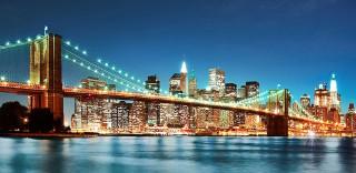 Фотообои ''Бруклинский мост 300х147 см''
