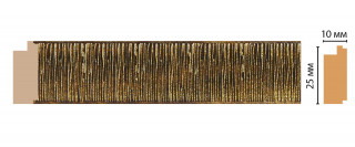 Багет Decomaster 102-28 (25*10*2400)