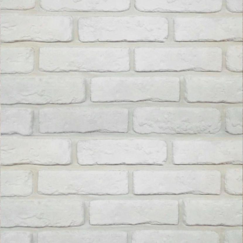 Декоративный камень Голицынский кирпич белый