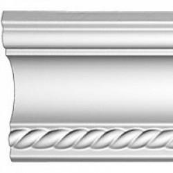 Потолочные плинтусы с рисунком