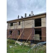 Фасадный декор из пенополистирола от компании Multifasad реализованный проект  в д.Сухининки Калужской области: