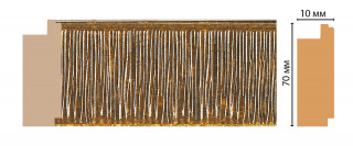 Багет Decomaster 108-17 (70*10*2400)