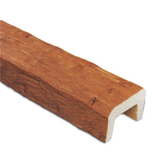 Декоративная балка Рустик (дуб светлый) 200*130*3000