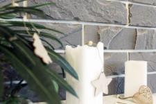 Декоративный камень Брик серый