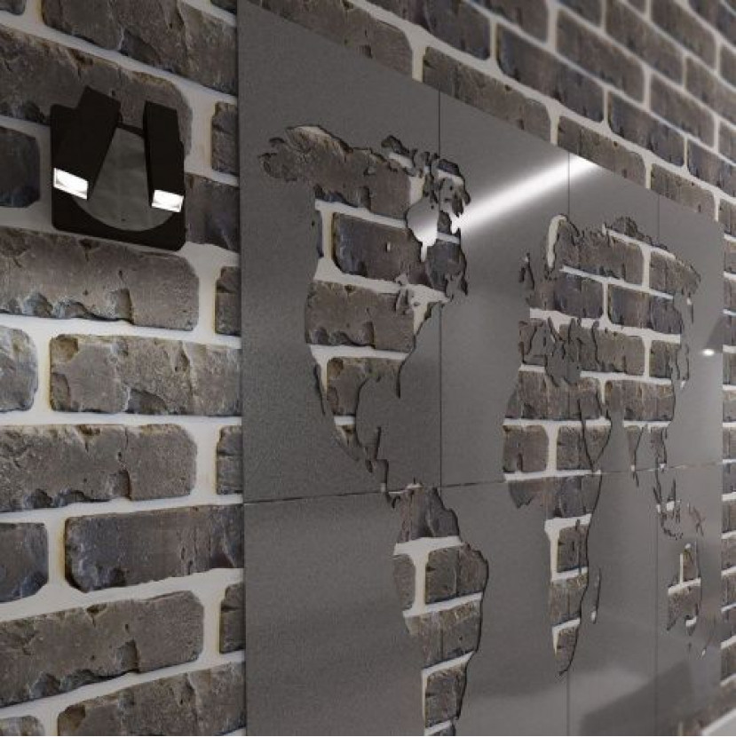 Декоративный камень Петровский кирпич серый